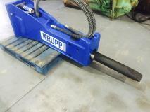 Krupp 780A 18 - 23 Ton Rock Breaker